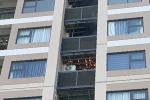 Cháy cục nóng điều hòa chung cư giữa nắng nóng 40 độ C
