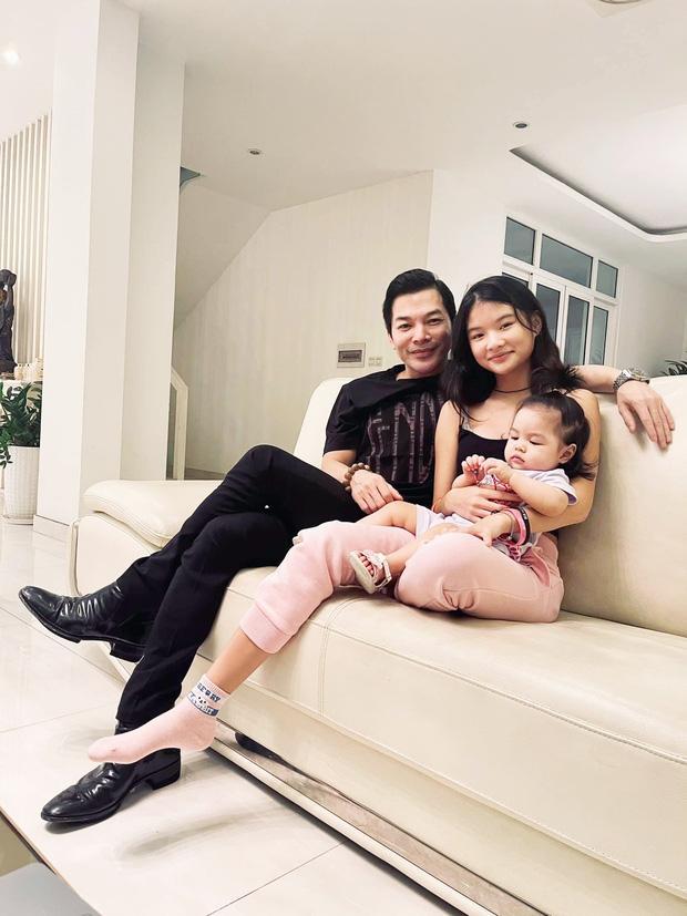 Trần Bảo Sơn lần đầu tung ảnh con gái lớn và em cùng cha khác mẹ-1