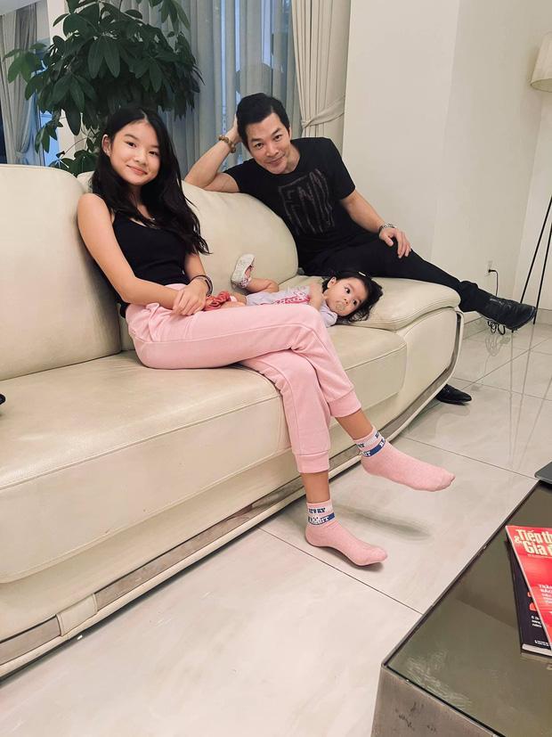 Trần Bảo Sơn lần đầu tung ảnh con gái lớn và em cùng cha khác mẹ-2