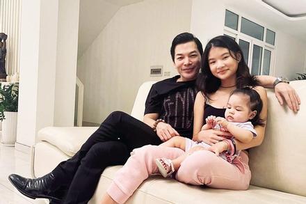 Trần Bảo Sơn lần đầu tung ảnh con gái lớn và em cùng cha khác mẹ