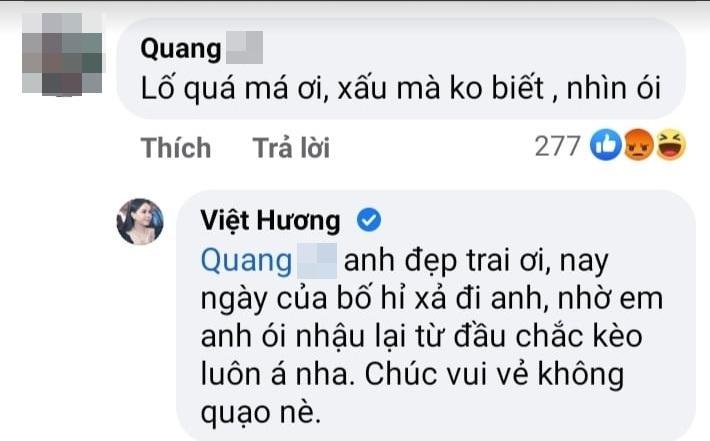 Việt Hương bị chê xấu mà không biết mình xấu, muốn ói-3