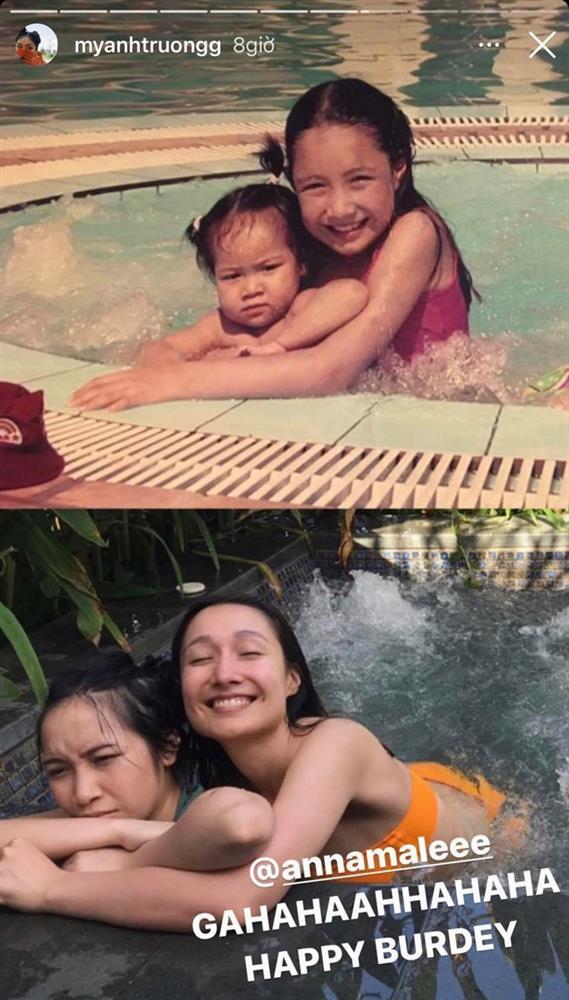 Hiếm hoi con gái diva Mỹ Linh khoe ảnh bên chị gái cùng cha khác mẹ-2
