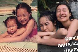 Hiếm hoi con gái diva Mỹ Linh khoe ảnh bên chị gái cùng cha khác mẹ