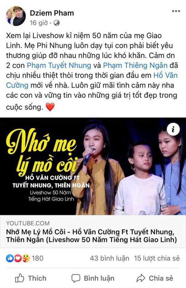 2 con gái nuôi của Phi Nhung thiệt thòi nhiều từ khi Hồ Văn Cường xuất hiện-1