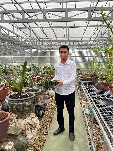 8X nghèo sưu tầm, nhân giống được vườn lan quý 450m2 ở Phú Thọ-3