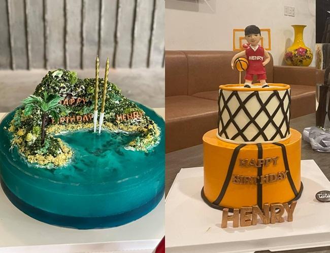 Mãn nhãn tiệc sinh nhật nhiệt đới của con cả Hồ Ngọc Hà-5