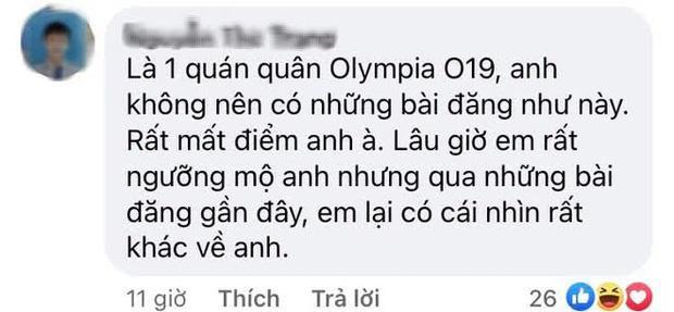Quán quân Olympia 2019 hành động khó hiểu khi đàn em thua cuộc-8