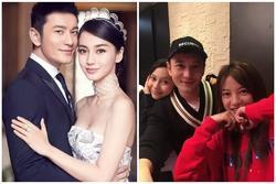 Phản ứng Huỳnh Hiểu Minh khi buộc phải lựa chọn Triệu Vy hay Angelababy?