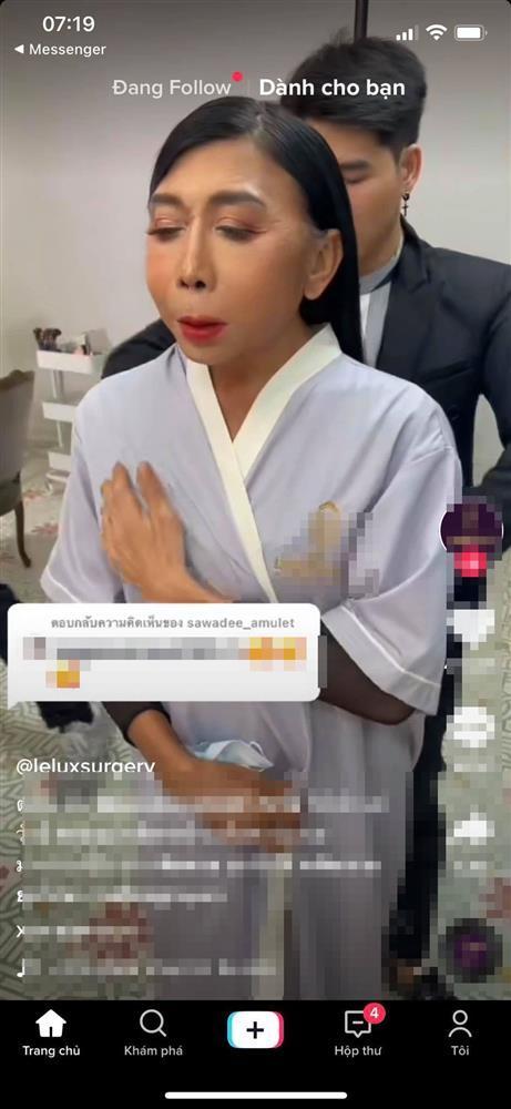 Gương mặt nát bươm hết vía của gái già chuyển giới Thái Lan-4