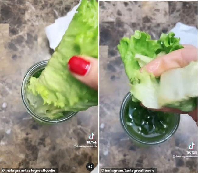 Blogger ẩm thực người Mỹ chia sẻ bí quyết giữ xà lách tươi xanh 1 tháng-4