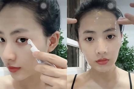 Minh Trang 'Cây Táo Nở Hoa' bày cách xóa quầng thâm mắt do thức đêm xem bóng