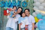 Đàm Thu Trang tổ chức sinh nhật cho Subeo, gửi lời chúc cực ngọt