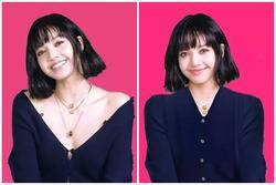 Sợ Lisa diện áo bung cúc 'viêm họng', fans photoshop 'kín cổng cao tường'