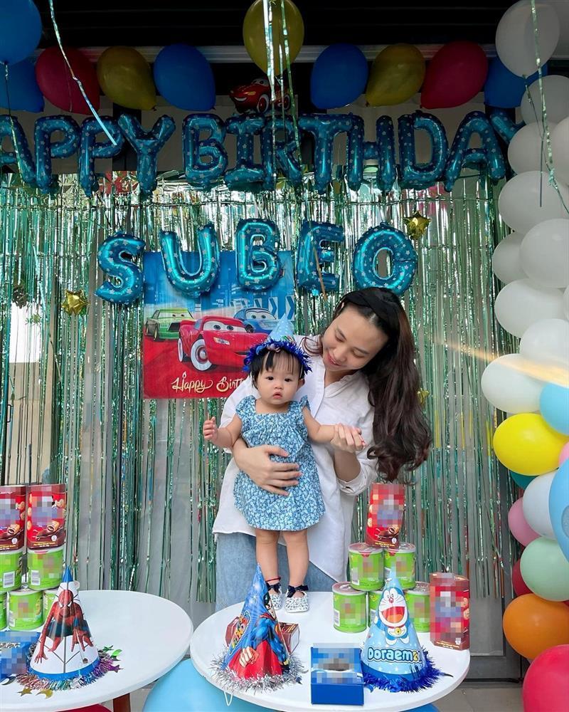 Đàm Thu Trang tổ chức sinh nhật cho Subeo, gửi lời chúc cực ngọt-3