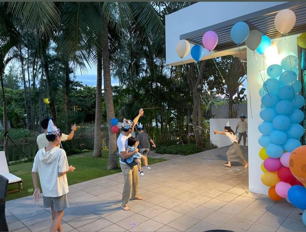 Đàm Thu Trang tổ chức sinh nhật cho Subeo, gửi lời chúc cực ngọt-5