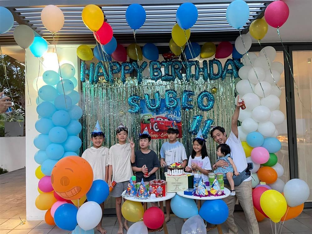 Đàm Thu Trang tổ chức sinh nhật cho Subeo, gửi lời chúc cực ngọt-4