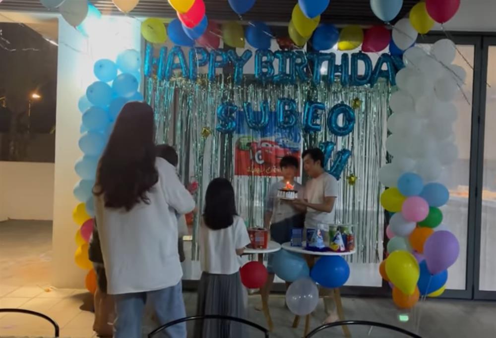 Đàm Thu Trang tổ chức sinh nhật cho Subeo, gửi lời chúc cực ngọt-2