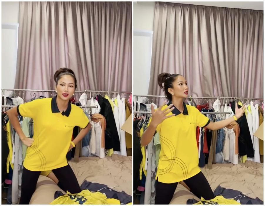 Hé lộ váy chưa diện ở Miss Universe 2018, HHen Niê bị chê như kiều nữ phòng trà-1