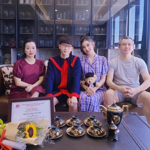 Em trai Á hậu Huyền My học trường quốc tế học phí khủng, thành tích học đáng nể-1