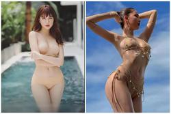Ngọc Trinh diện nội y nude nhìn qua tưởng không mặc gì