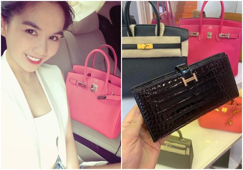 Ngọc Trinh - Lily Chen đụng từ siêu xe đến túi Hermès, còn bị nghi chung bồ-14
