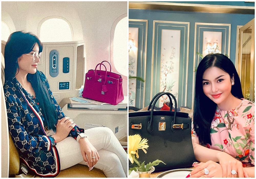 Ngọc Trinh - Lily Chen đụng từ siêu xe đến túi Hermès, còn bị nghi chung bồ-12