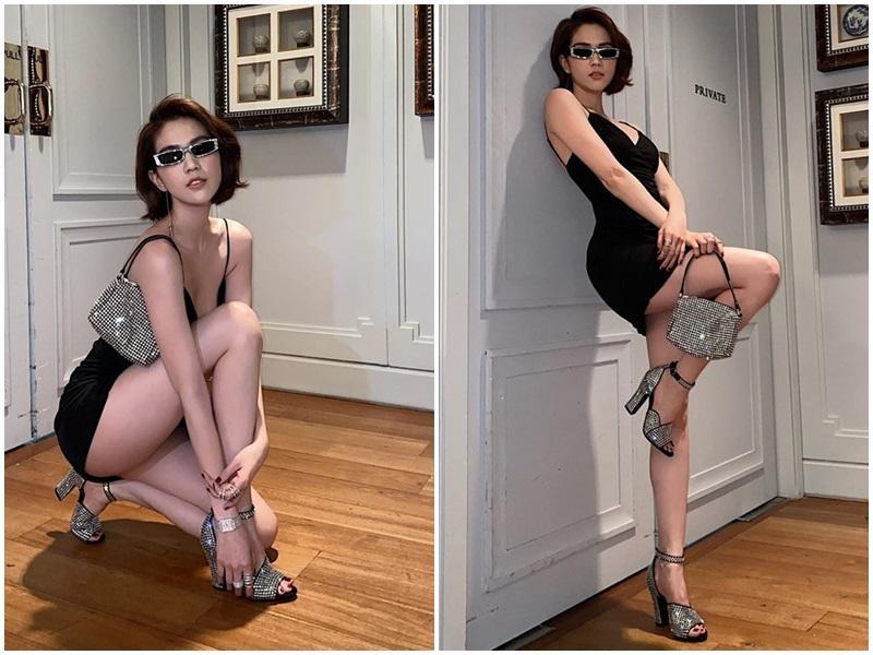 Ngọc Trinh - Lily Chen đụng từ siêu xe đến túi Hermès, còn bị nghi chung bồ-8