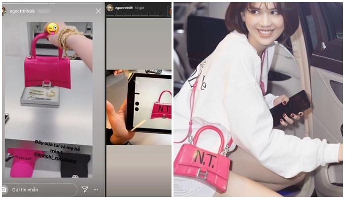 Ngọc Trinh - Lily Chen đụng từ siêu xe đến túi Hermès, còn bị nghi chung bồ-6