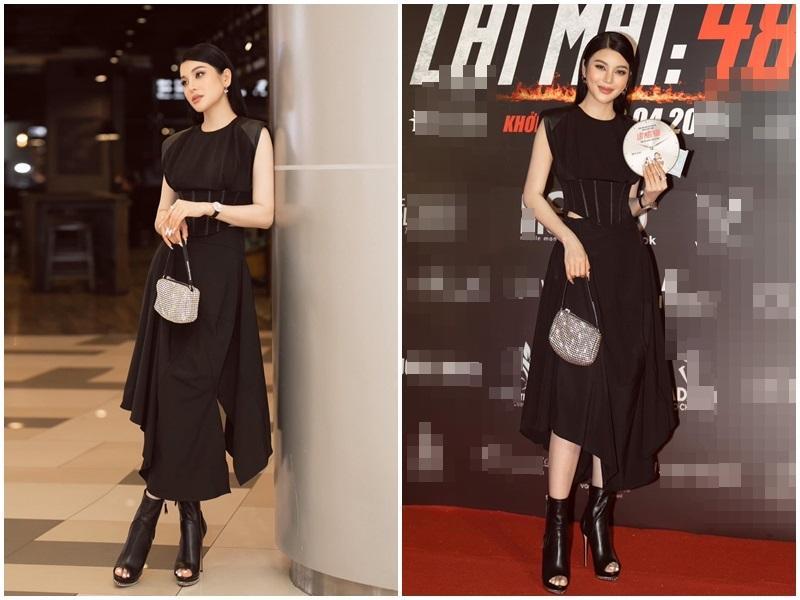 Ngọc Trinh - Lily Chen đụng từ siêu xe đến túi Hermès, còn bị nghi chung bồ-7