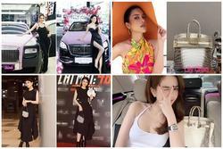 Ngọc Trinh - Lily Chen đụng từ siêu xe đến túi Hermès, còn bị nghi 'chung bồ'