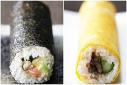 2 cách làm sushi cuộn chuẩn người Nhật