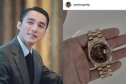 Sơn Tùng khoe đồng hồ nửa tỷ giống G-Dragon, fan đòi pass lại 300k