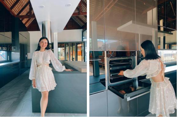 Angela Chu được chồng tỷ phú tặng bếp 3,7 tỷ trong villa 10 triệu đô-8