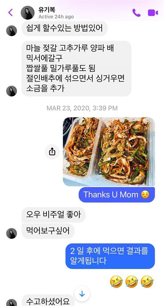Tin nhắn mẹ chồng Hàn gửi Pha Lê khi biết con dâu mang thai-4