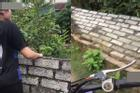 Ăn trộm vải đổ tường hàng xóm, thái độ cợt nhả của cô gái gây phẫn nộ