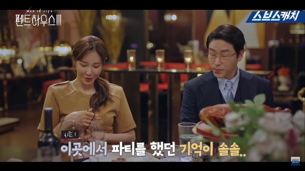Hậu trường Penthouse 3 tập 3: Dượng Tê thương nhớ Shim Soo Ryeon từ phim ra đời-1