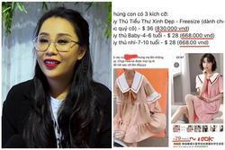 Nhà văn Gào bị tố bán hàng nhái Trung Quốc với giá 'cắt cổ'