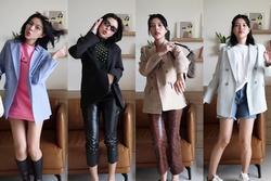 Tú Hảo xuất chiêu phối blazer đa phong cách cho nàng sành điệu