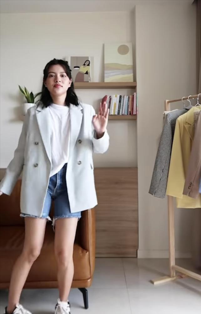 Tú Hảo xuất chiêu phối blazer đa phong cách cho nàng sành điệu-4