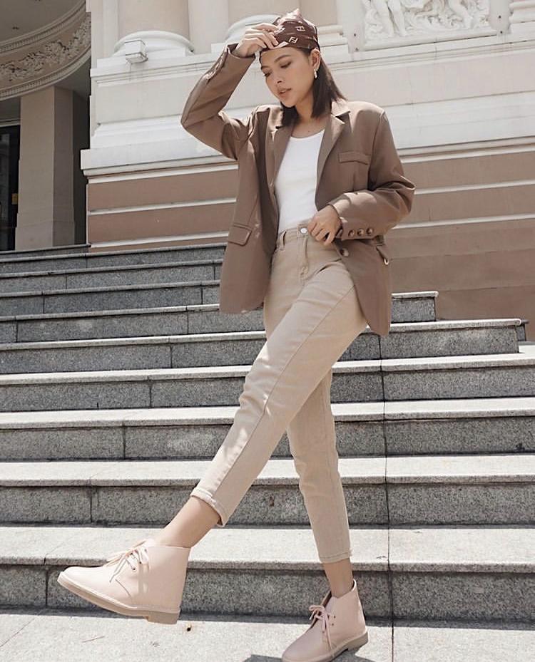 Tú Hảo xuất chiêu phối blazer đa phong cách cho nàng sành điệu-5