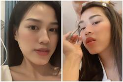 Hoa hậu Đỗ Thị Hà tiếp tục 'sửa nhẹ' một điểm trên gương mặt