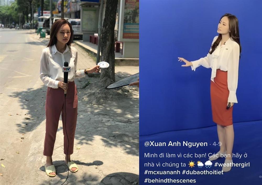 Nữ MC trẻ nhất VTV lên đồ trên gợi cảm dưới lạc quẻ khi dẫn sóng-7