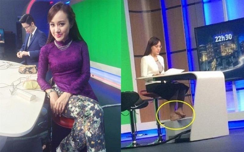 Nữ MC trẻ nhất VTV lên đồ trên gợi cảm dưới lạc quẻ khi dẫn sóng-13