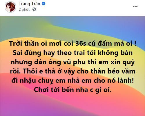 Trang Trần xin quỳ trước cú đấm Hoàng Yến của chồng cũ-2
