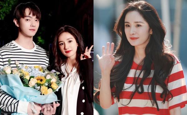 Dương Mịch - Hứa Khải chung 1 khung hình, nhan sắc thế nào mà netizen cứ mắng nhà gái già hơn nhà trai?-1