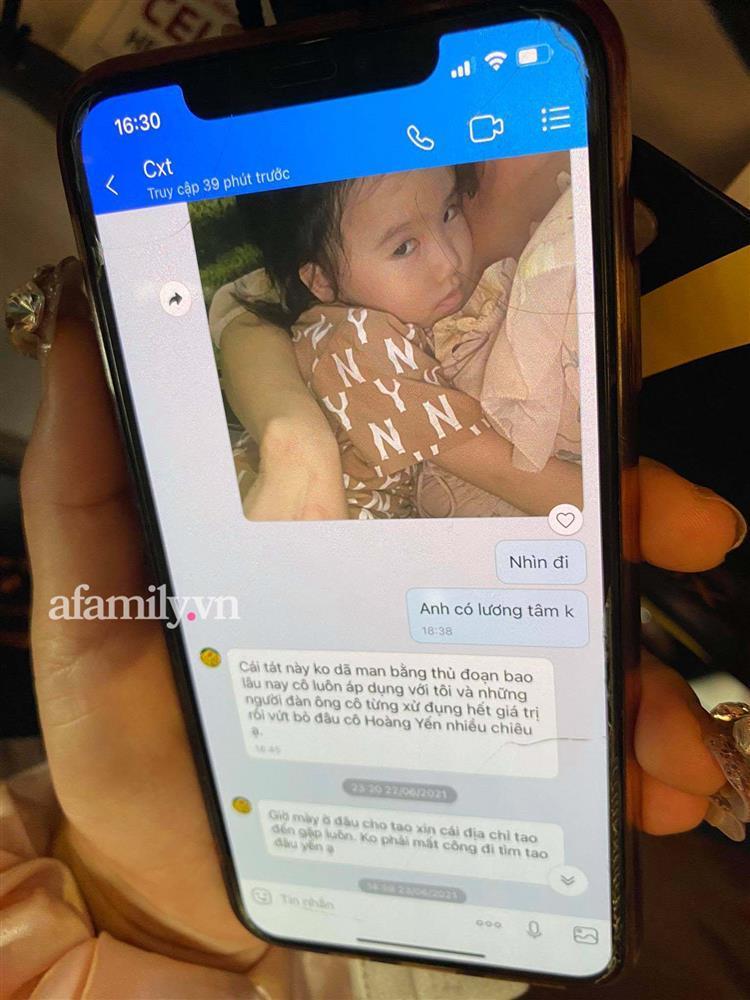 Hé lộ tin nhắn chồng cũ gửi Hoàng Yến sau vụ đấm-3