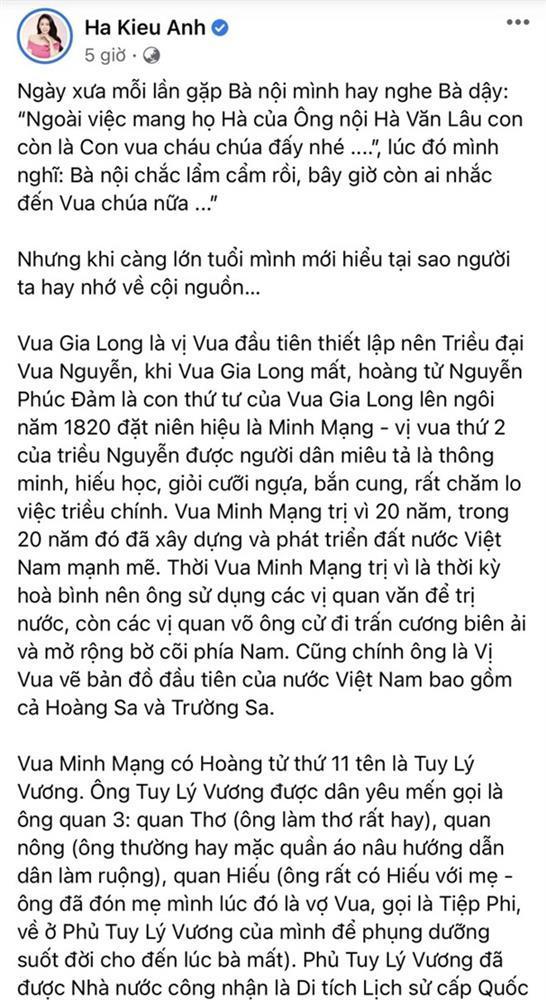 Gia thế Hoa hậu Hà Kiều Anh: Công chúa đời thứ 7, con vua cháu chúa-1