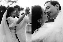 Hồ Ngọc Hà - Kim Lý tung ảnh cưới đen trắng sặc mùi 'ngôn tình'