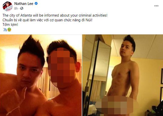 Nathan Lee gây xôn xao khi chia sẻ hình ảnh nhạy cảm của Cao Thái Sơn-1