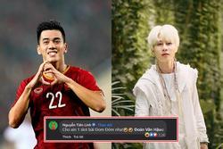 Cầu thủ Tiến Linh thừa nhận 'u mê' ca khúc 'Đom Đóm' của Jack